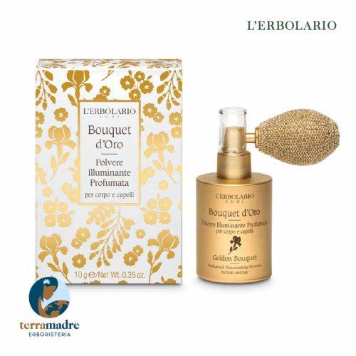 L'Erbolario - Polvere Illuminante Profumata - Bouquet d'Oro