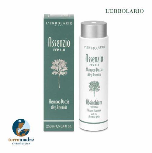 L'Erbolario - Shampoo Doccia - Assenzio per Lui