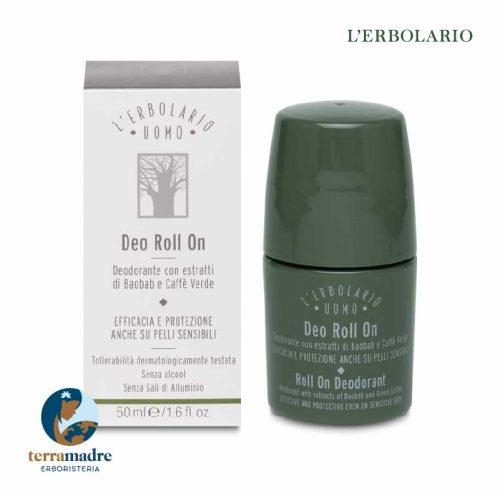 L'Erbolario - Deodorante Roll on - Uomo