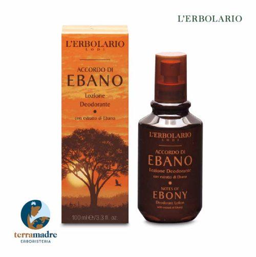 L'Erbolario - Lozione Deodorante - Accordo Di Ebano