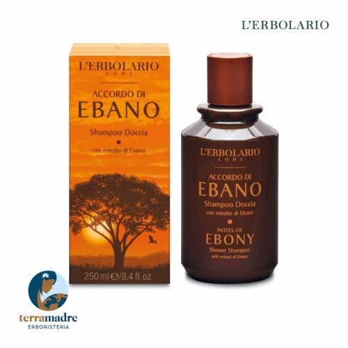 L'Erbolario - Shampoo Doccia - Accordo Di Ebano