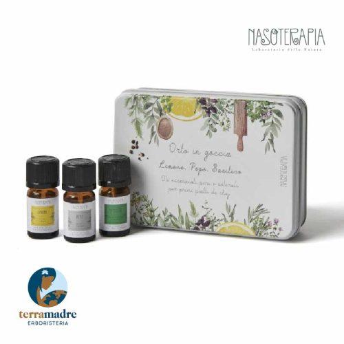 Nasoterapia - Oli Essenziali - Cofanetto Orto In Goccia - Primi Piatti