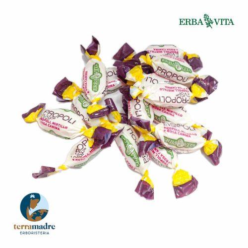 Erba Vita - Caramelle - Propoli EVSP con Mirtillo e Rosa Canina