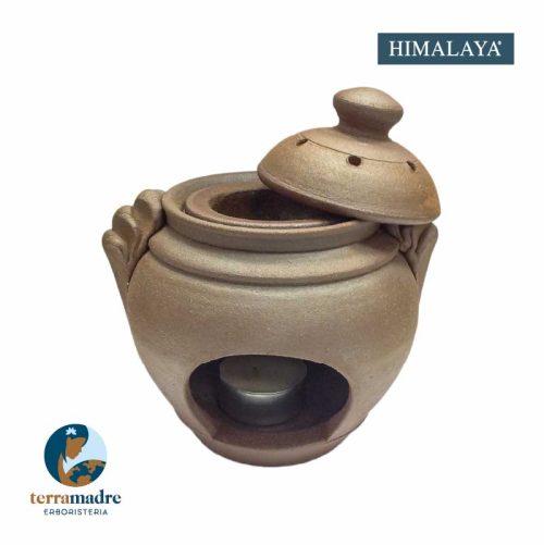 Himalaya - Diffusore Oli Essenziali in Terracotta - Lhasa