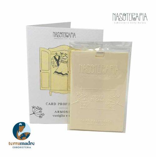 Nasoterapia - Card Profumata - Armonia Vaniglia e Sale