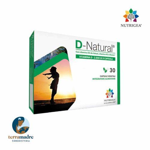 Nutrigea - D-Natural - Vitamina D - 2.000 UI X Capsula