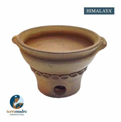 Himalaya - Bruciatore Incenso in Terracotta
