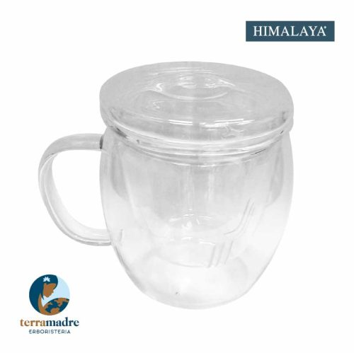 Himalaya - Vetro Borosilicato - Infusiera Linda